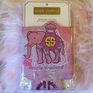 Simply Southern elephant mandala beverage holder